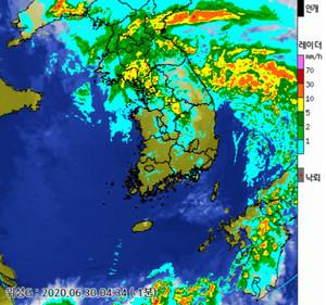 오늘의 날씨 및 이번주날씨 예보, 2020년 장마기간, 7월 5일~7일 전국 비!오늘 일출시간(오늘 해뜨는시간)