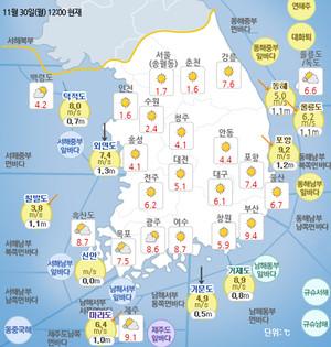 [일기예보]기상청 전국 지역별 오늘의 날씨 및 이번주날씨 예보, 당분간 겨울 추위 계속!